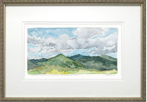 The Blue Ridge frame