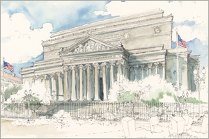 The National Archives print by MEMullin