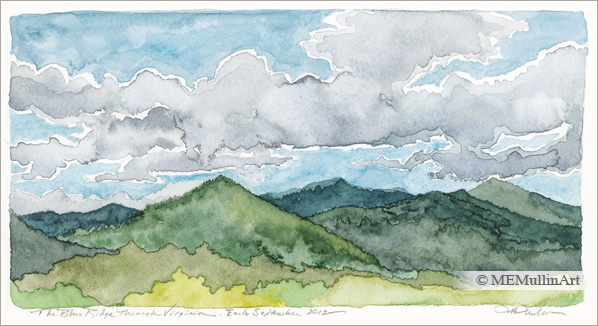 MEMullinArt - The Blue Ridge